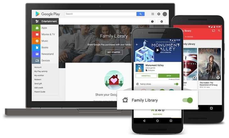 GoogleFlay Family Library