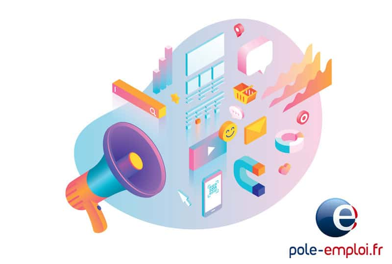 ▷ Finance its digital marketing training with the Pôle Emploi