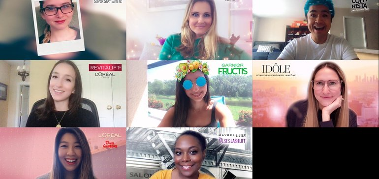 ▷ L'Oréal and Snap Camera, a little fantasy in our video chats 2020 Guide