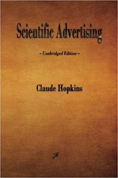 Amazon.fr - scientific advertising - hopkins, claude - books