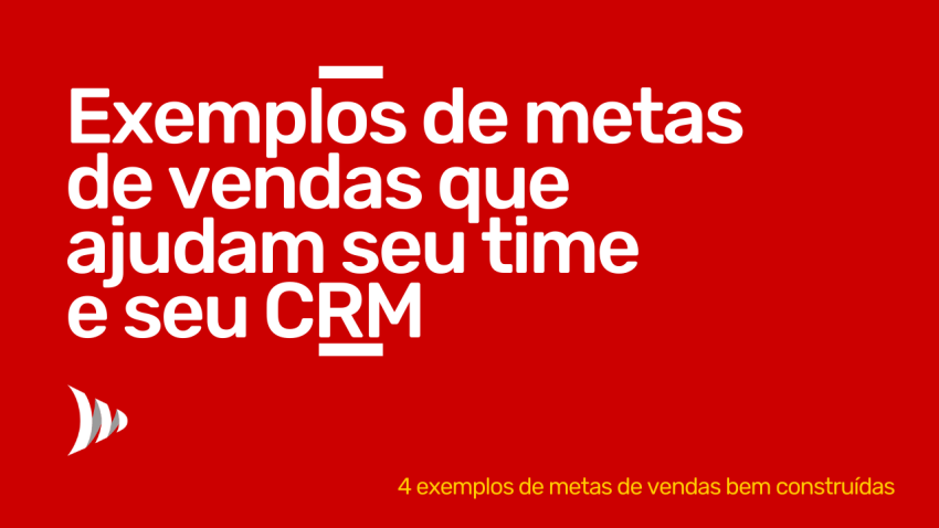 Sales goals and CRM