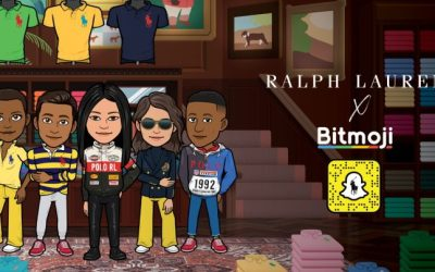 create your Bitmoji avatar with the new Ralph Lauren outfits!  2020