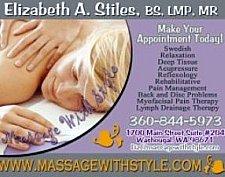 Liz Stiles Massage www.massagewithstyle.com