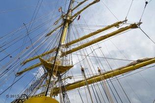 El Velero Rumano Mircea es un velero del tipo barca de tres mástile (29)