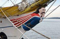 El Velero Rumano Mircea es un velero del tipo barca de tres mástile (40)