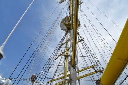 El Velero Rumano Mircea es un velero del tipo barca de tres mástile (61)