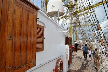 El Velero Rumano Mircea es un velero del tipo barca de tres mástile (64)