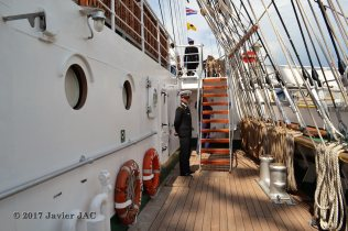 El Velero Rumano Mircea es un velero del tipo barca de tres mástile (68)