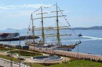 El Velero Rumano Mircea es un velero del tipo barca de tres mástile (9)