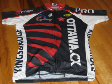 Front view of the jersey.