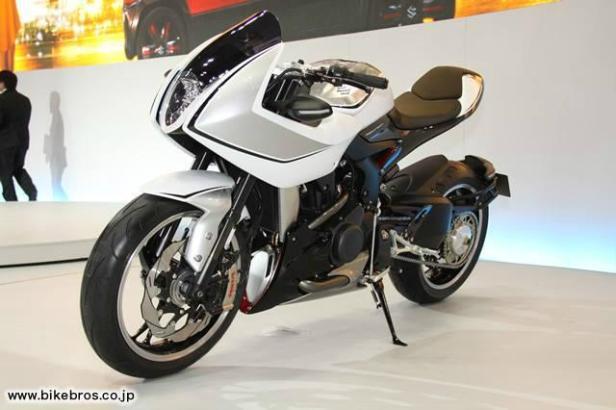 Konsep Motor 'turbo' dari Suzuki , keren juga euy