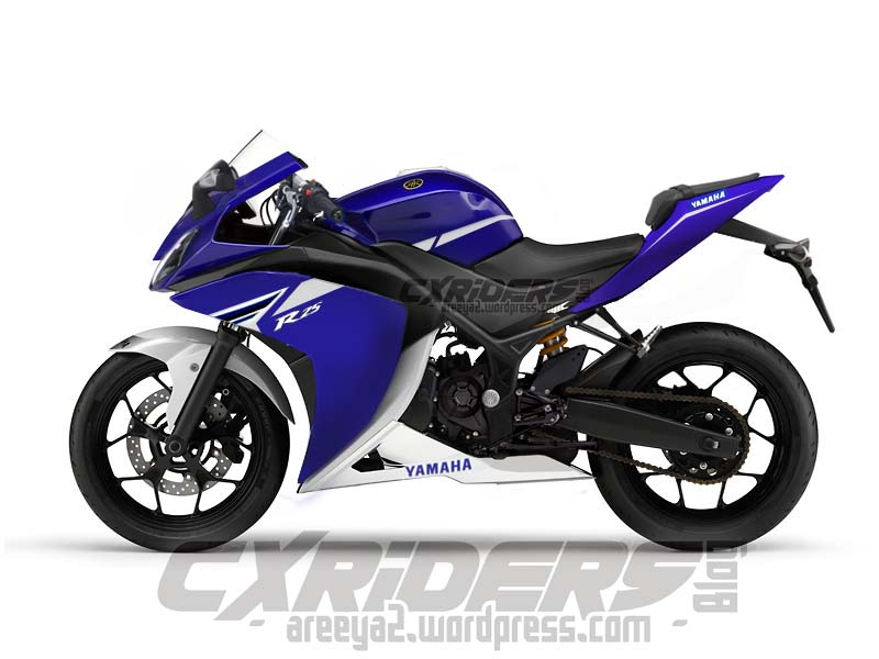 Yamaha R25 mass production