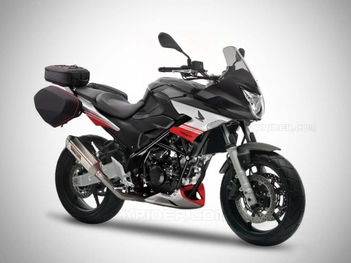 modifikasi cb150r half fairing turing