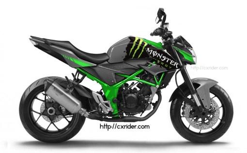modif new cb150r streetfire monster energy