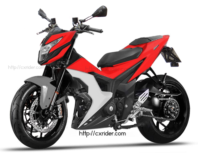 Konsep Modifikasi Honda Sonic 150, Ayago Berotot