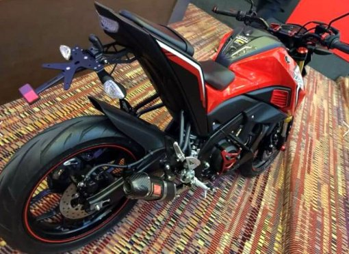 modifikasi yamaha mt 15