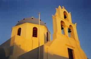 Cathédrale à Oia