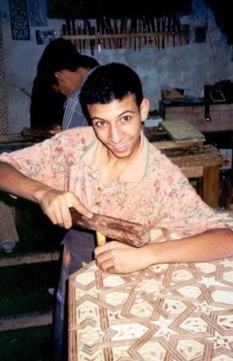 Jeunes artisans de la Medina de Fès