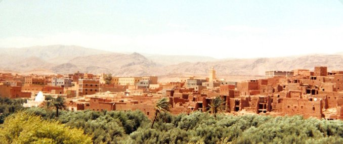 TIneghir, dans la vallée du Dadès