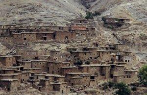 Village entre Ouarzazate et Marrakech