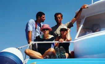 En bateau vers Scandola