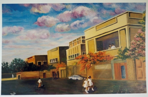 "Figure 6: 'Alī 'Abduh al‑Faqiya, ""Urban development"", 1970."