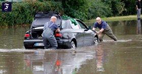 Hitze und Starkregen: In wenigen Minuten können ganze Ortsteile unter Wasser stehen