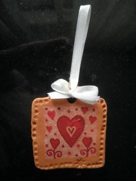 Ана је направила поклон за маму (у вртићу)