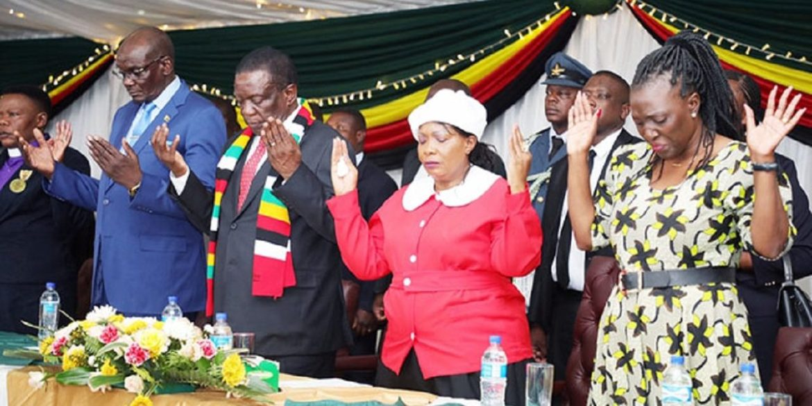Zimbabwe First Lady Calls For 3 Days Of Prayer & Fasting By Women Against Covid-19