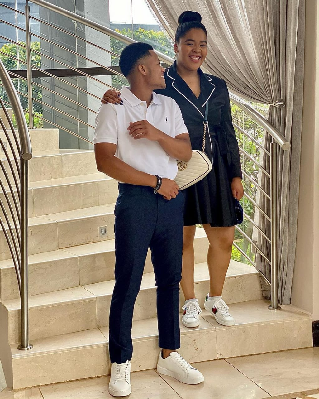 Connie Ferguson Tomboy Daughter Wearing A Dress For The First Time