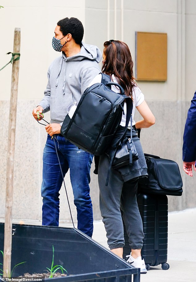 Trevor Noah And Minka Kelly Looking For A House In LA