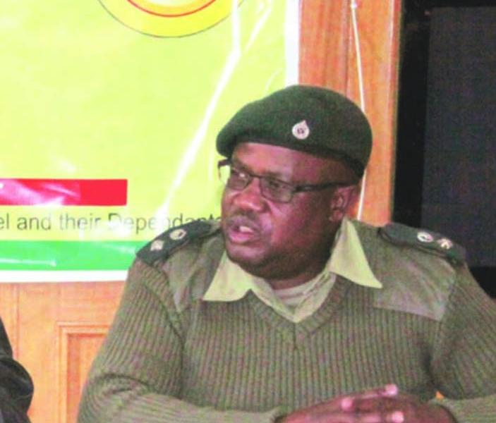 Zimbabwe National Army Director Public Relations Colonel Alphios Makotore