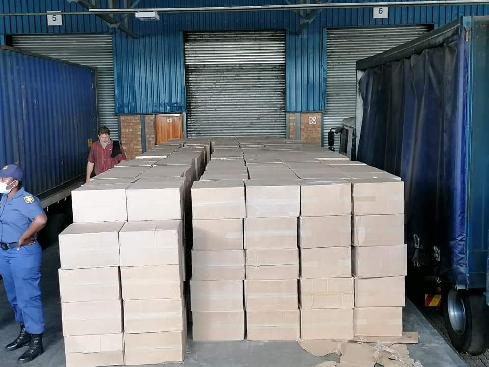 R16m Worth Of Illicit Cigarettes Recovered in SA After Being Smuggled From Zimbabwe As Bananas-iHarare