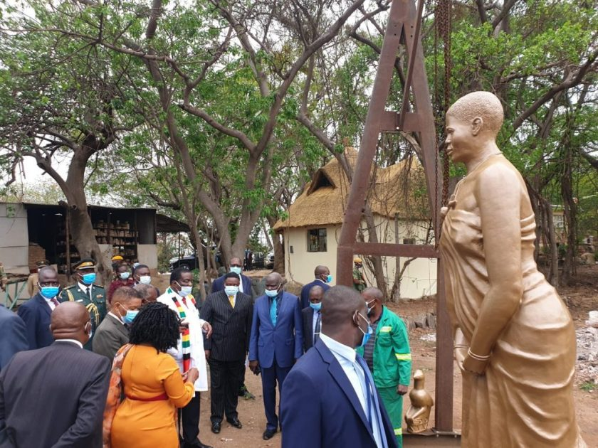ED Rejects 'Youthful' Mbuya Nehanda Statue, Orders A Remake
