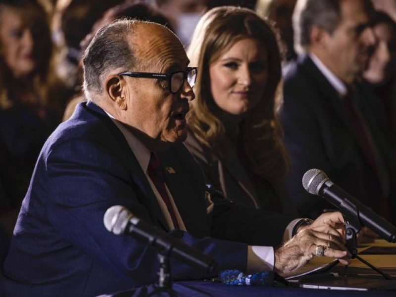 Trump Lawyer Rudy Giuliani Expresses Disgust For Pennsylvania Republicans