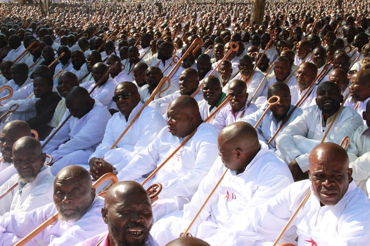 Government defies Covid -19 WHO Health Regulations...allows more than 10 thousand congregants to gather