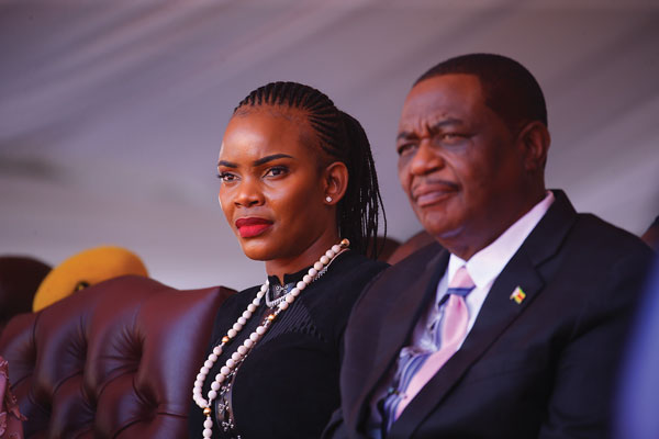 Ailing VP Constantino Chiwenga & Wife Mary Chiwenga, VP Chiwenga Ordered Mary's Arrest