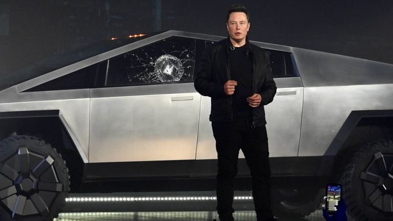 Elon Musk ridiculed over Cybertruck