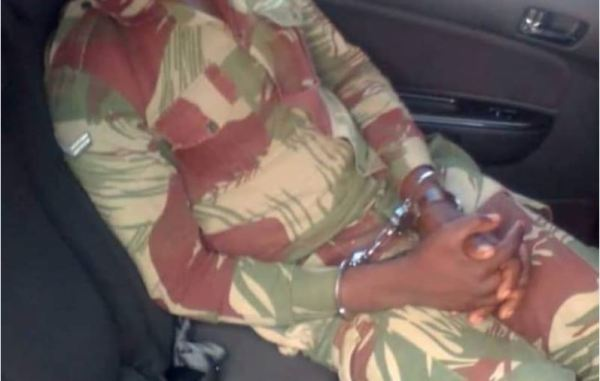 Fake Soldier Storms State House