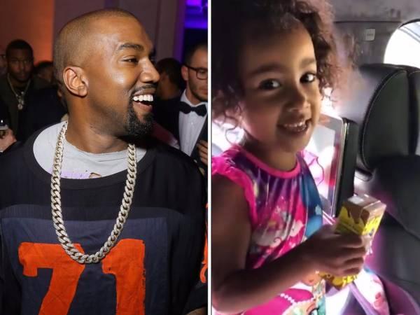 Kim Kardashian And Kanye West's Daughter