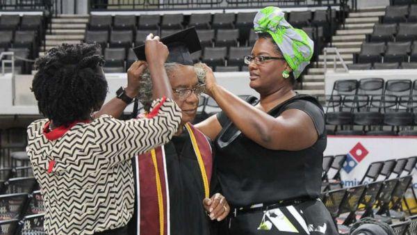 80 Year Old Alabama Granny Graduates