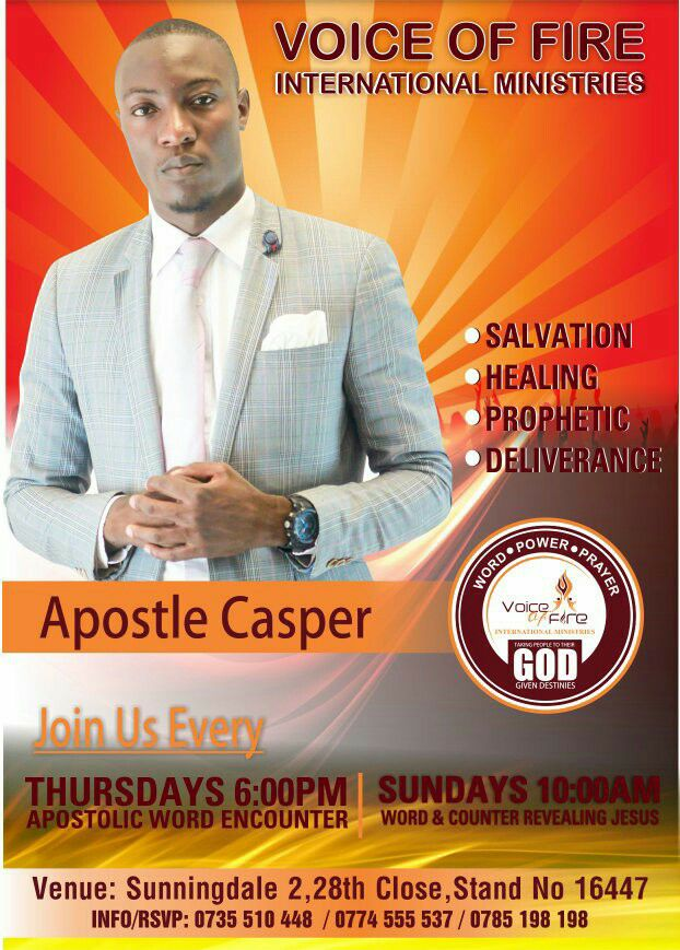 Apostle Casper Bonga Exposed By Ex-Boyfriend