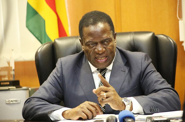 Mnangagwa warns fake news peddlers