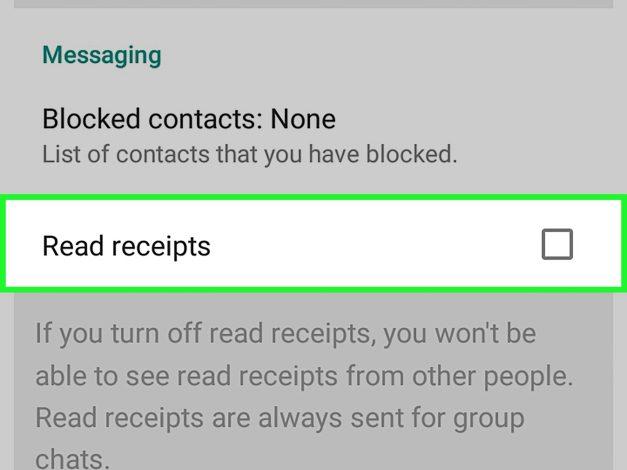 Secretly Open WhatsApp status