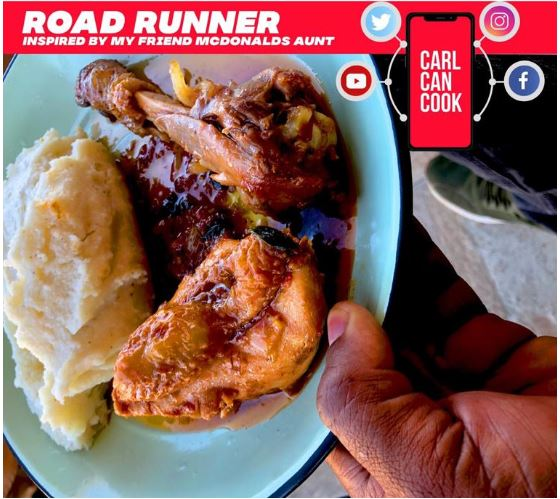 How to cook a roadrunner