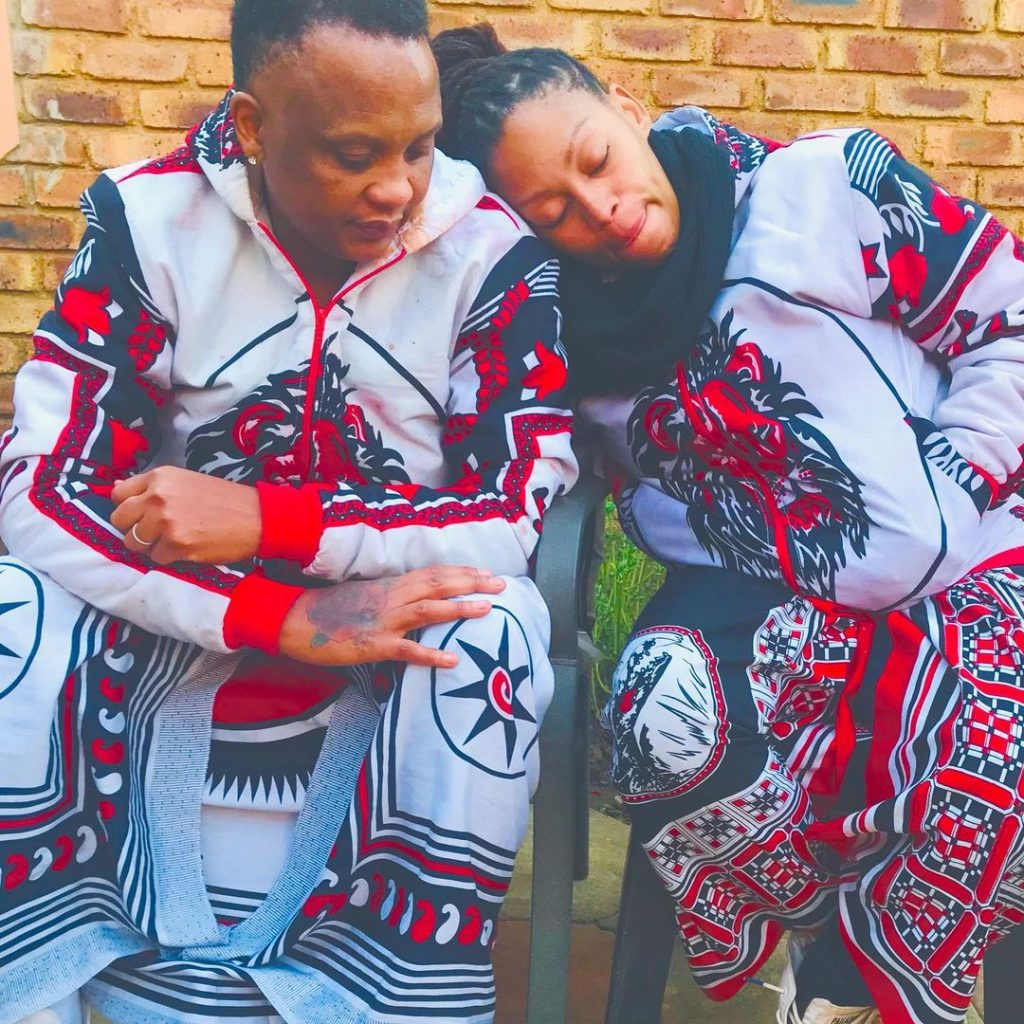 Generations Actress Letoya and Lebo celebrate their annivesary