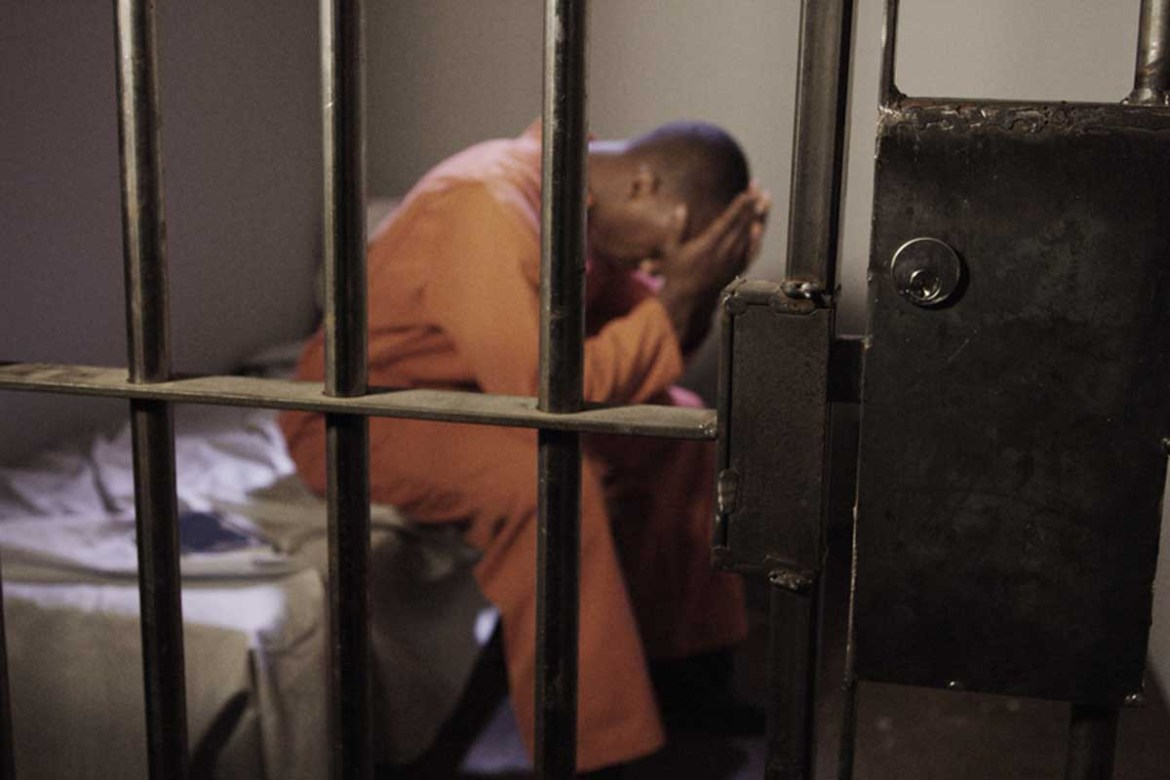 Chaos In Police Cells As Randy Man Molests Fellow Inmates Arrested For Violating Curfew