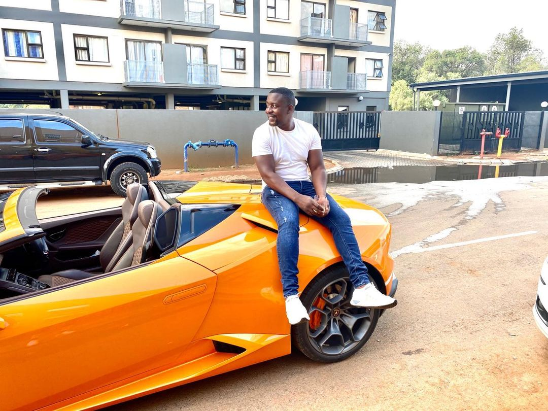"""Ginimbi Manager's Boyfriend """"Hell Commander"""" Involved In Fiery Accident In Lamborghini"""