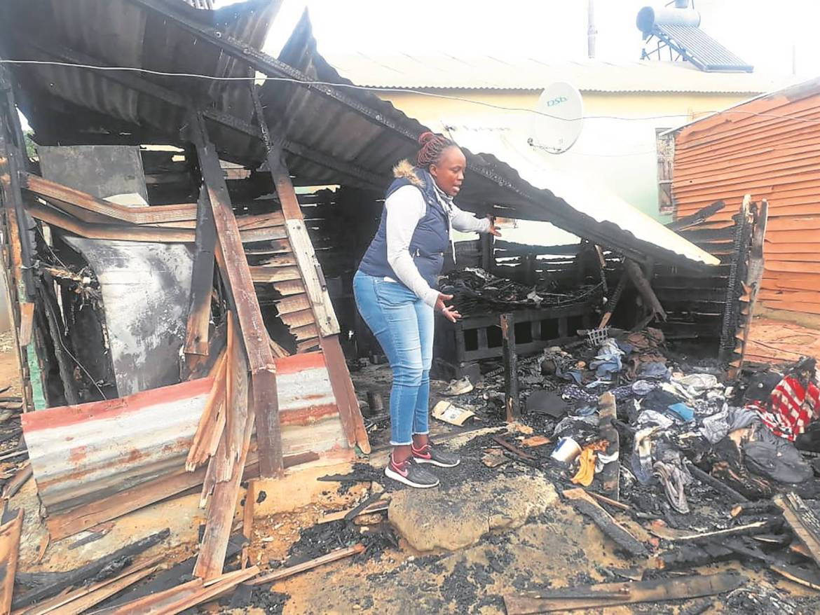 """""""If I Wasn't Out Boozing I'd Have Been Dead!""""-Woman Claims After Her Ex-Lover Petrol Bombs Her Shack-iHarare"""