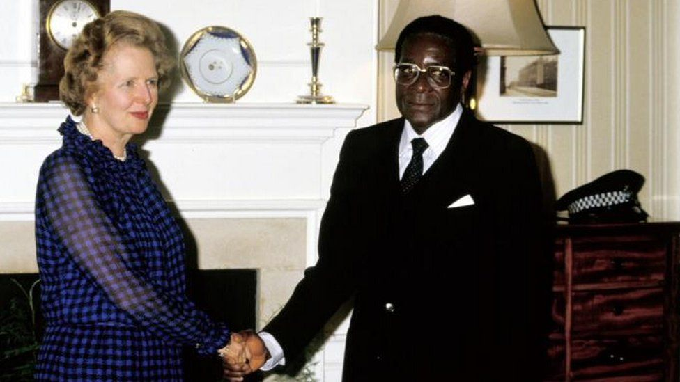 PICS: Robert Mugabe's Letter Telling Off British PM For Supporting Apartheid South Africa